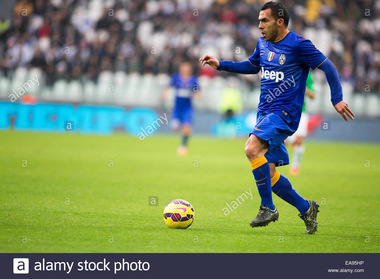9bf5d2bc719 Carlos Tevez during the Serie A match between Juventus FC and Parma FC. at  Juventus Stafium on november 9