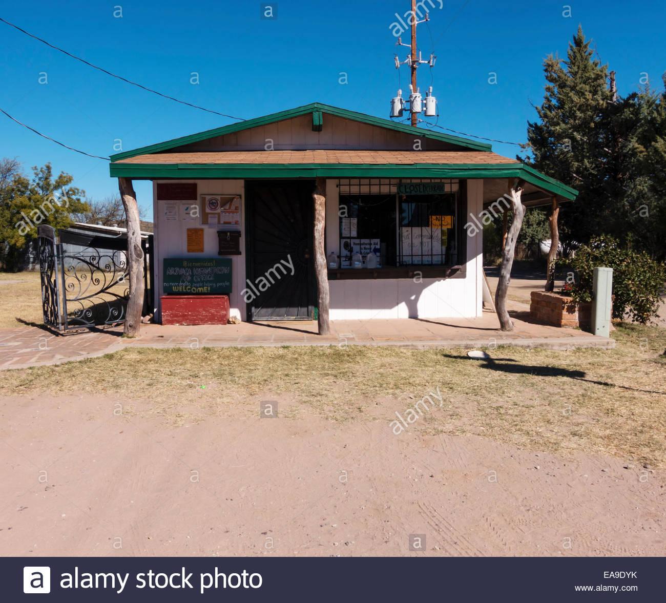 Arivaca Arizona Humanitarian Aid Office - Stock Image