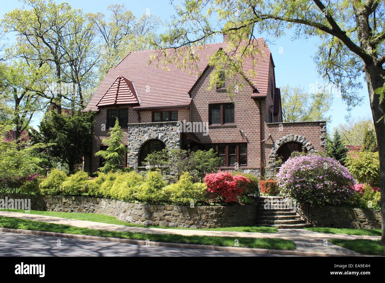 Tudor Revival House, Forest Hills Gardens, Queens, New York