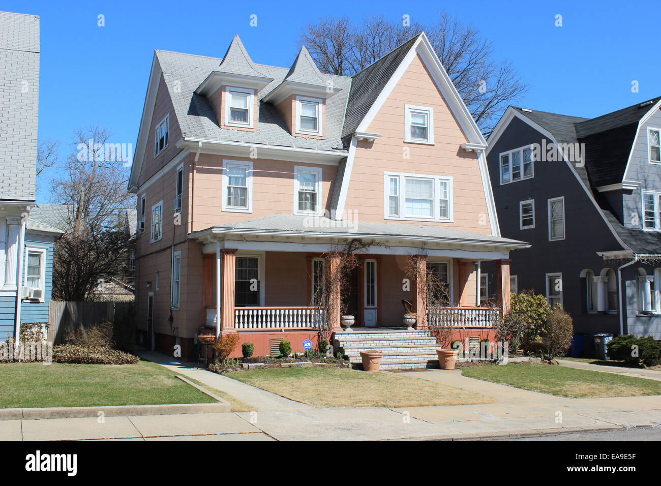 Colonial Revival Stock Photos Colonial Revival Stock Images Alamy