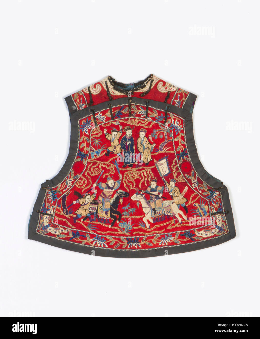 Ancient Chinese vest - Stock Image