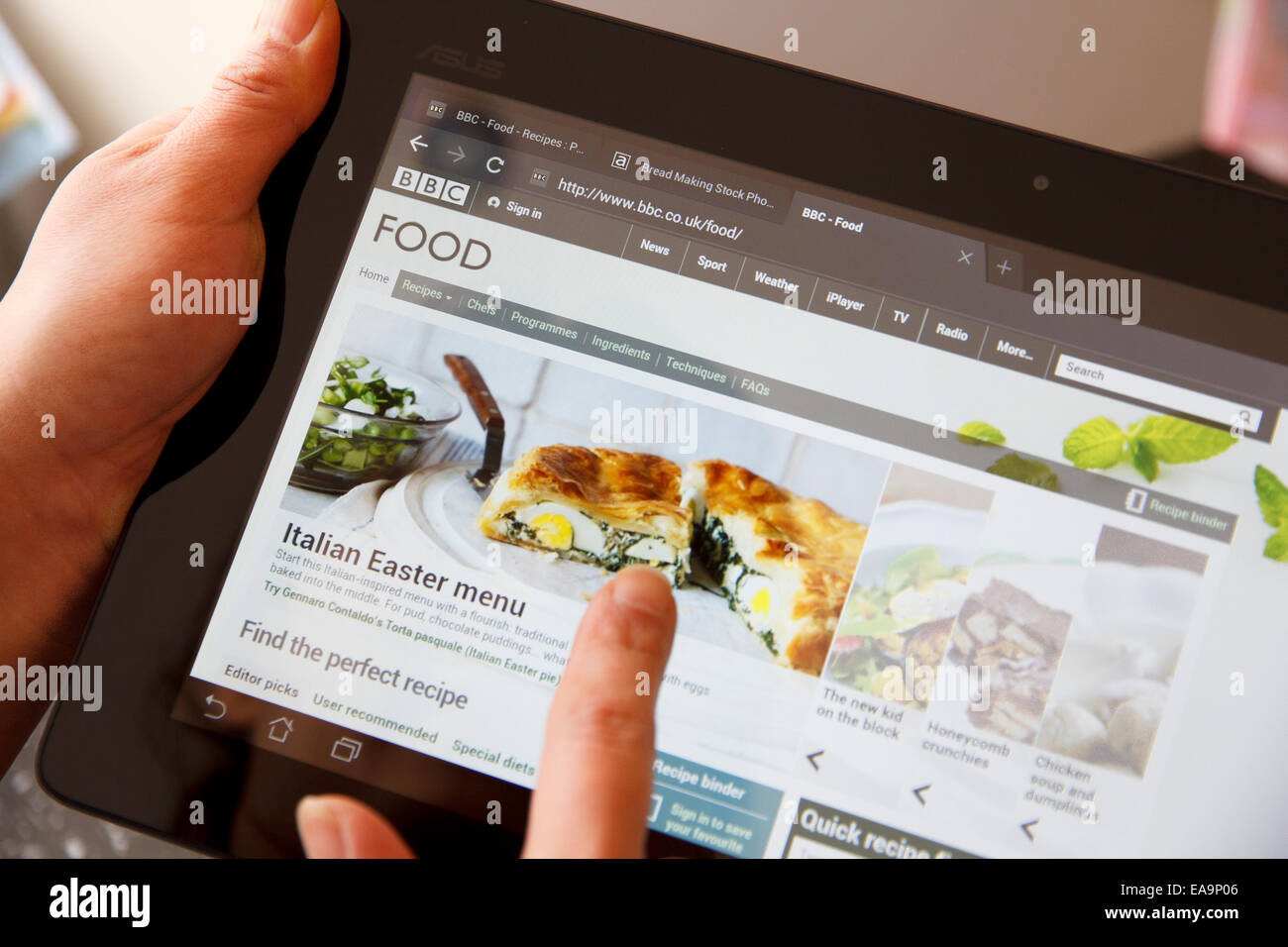 On bbc one stock photos on bbc one stock images alamy the bbc food website is one of the most popular sources of online recipes on the forumfinder Gallery