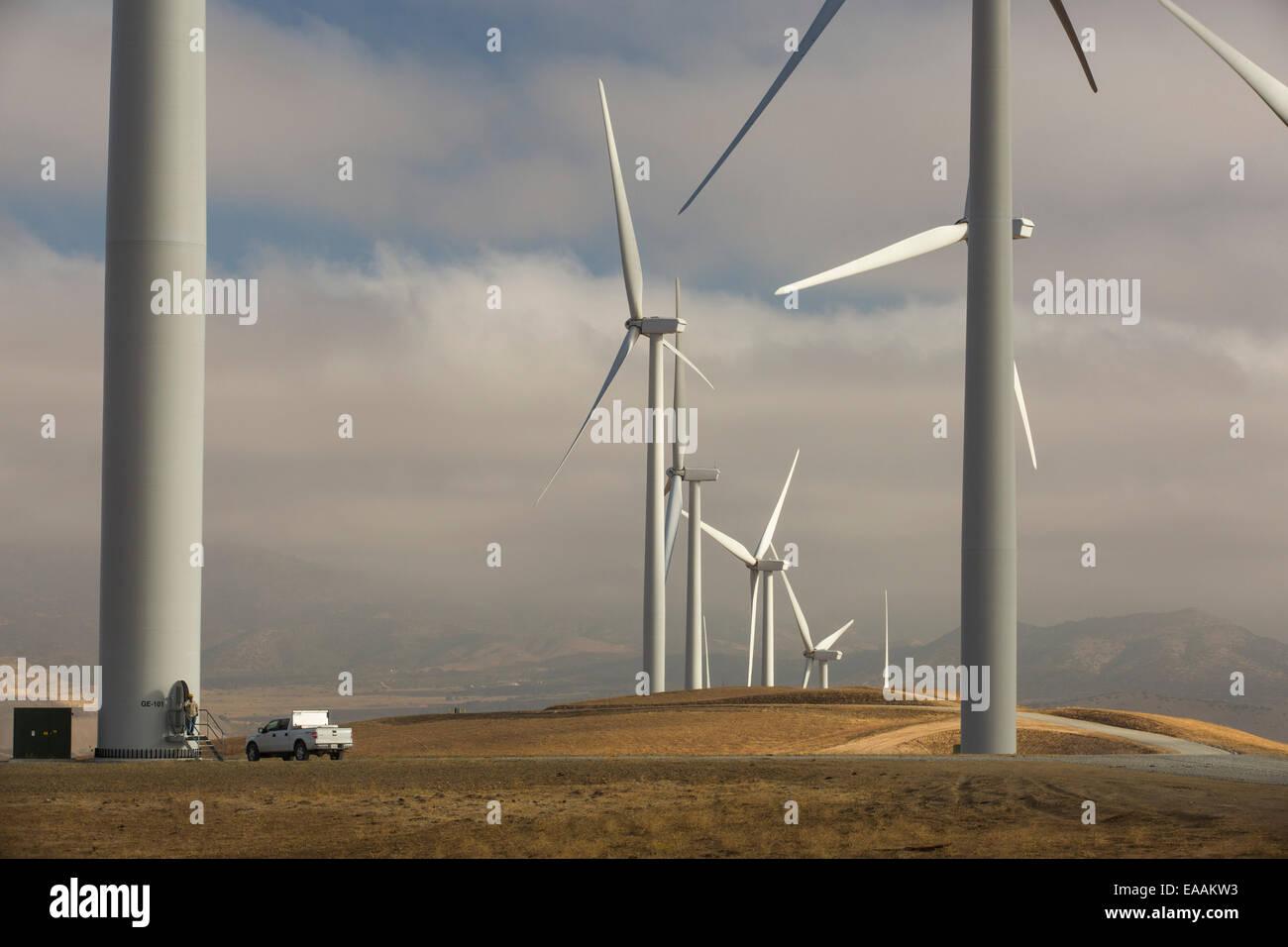 Tehachapi Wind Farm Tour