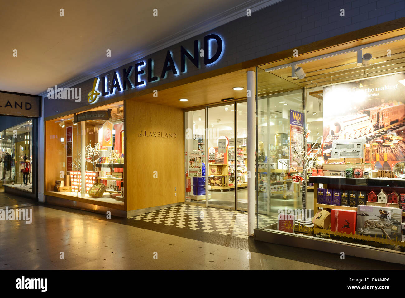 Lakeland kitchenware shop in Chester city centre UK - Stock Image