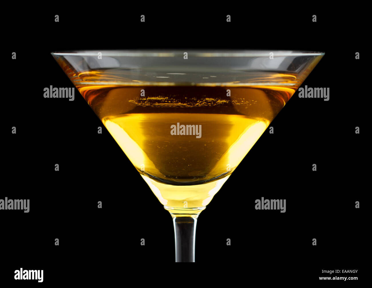 Banana bliss cocktail - Stock Image