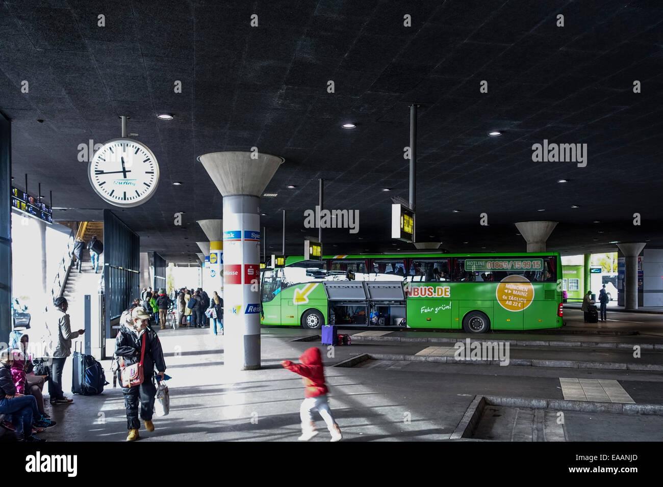 Zentraler Omnibusbahnhof, ZOB, Central Bus Station, Munich