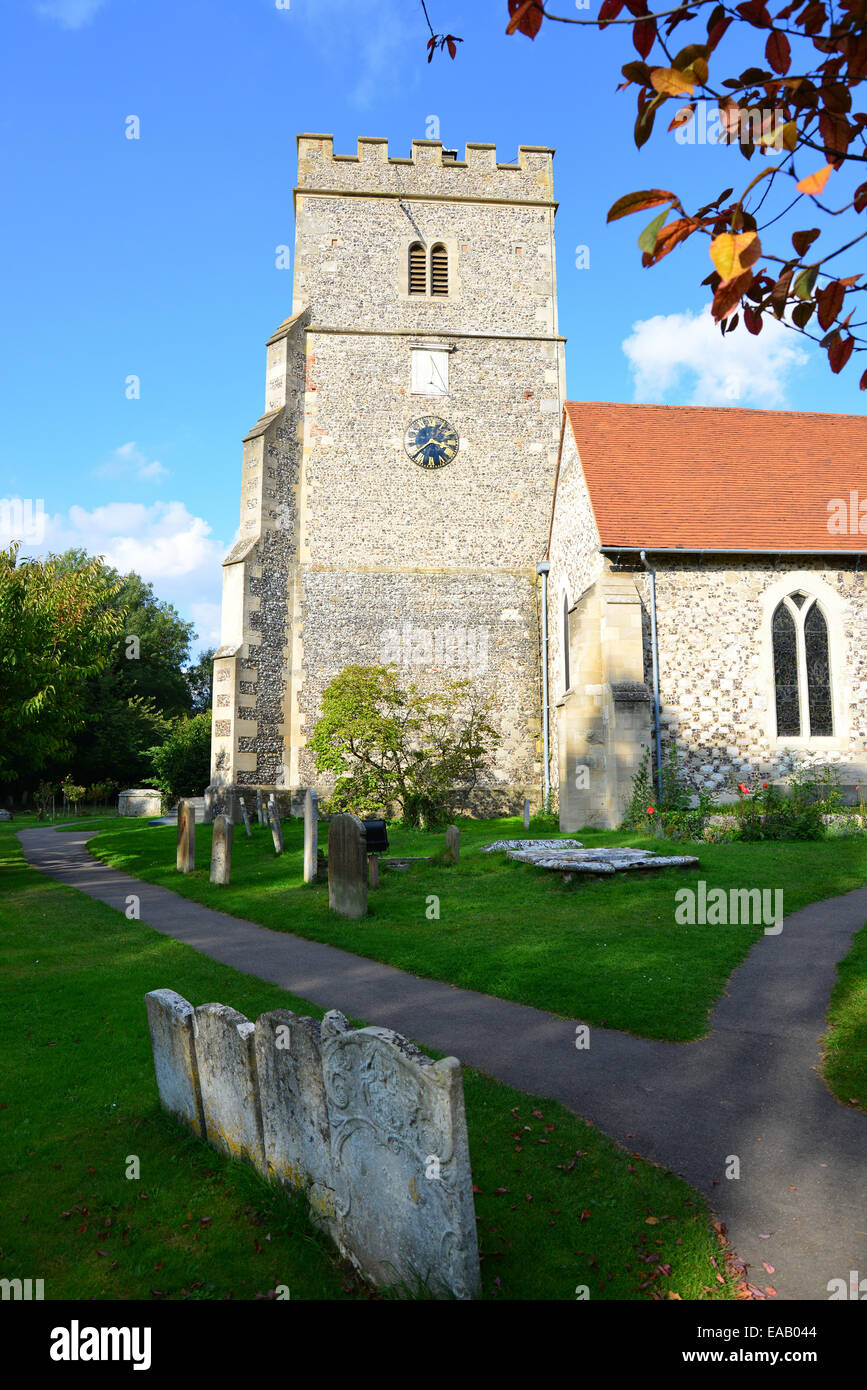 Holy Trinity Parish Church, Church Gate, Cookham, Berkshire, England, United Kingdom - Stock Image
