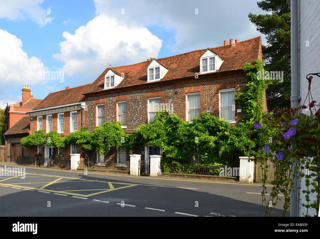 Eastgate cottages, Sutton Road, Cookham, Berkshire, England, United Kingdom - Stock Image