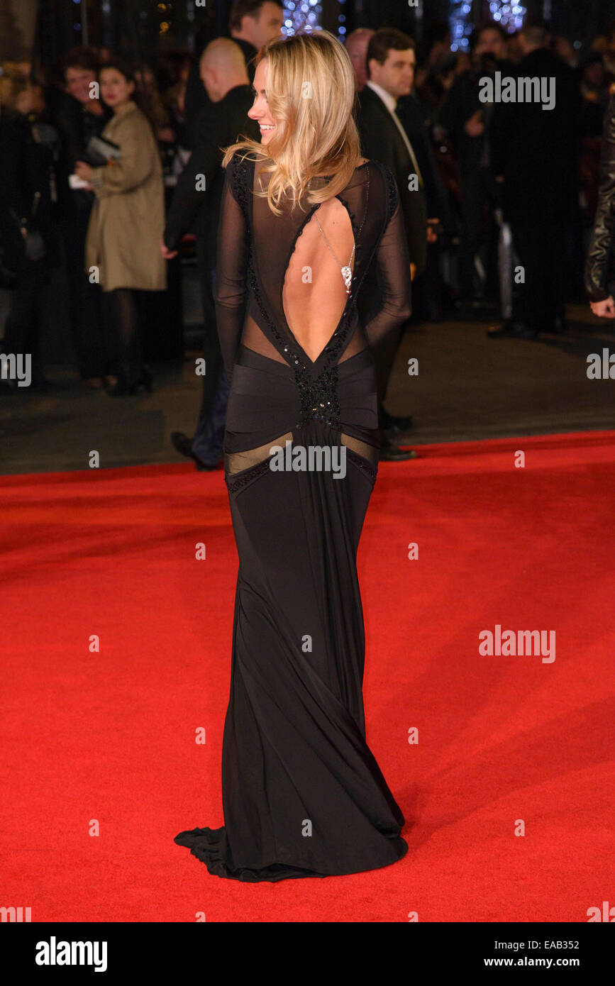 London, UK. 10th Nov, 2014. Kimberley Garner attends the World Premiere of The Hunger Games: Mockingjay Part 1 on - Stock Image