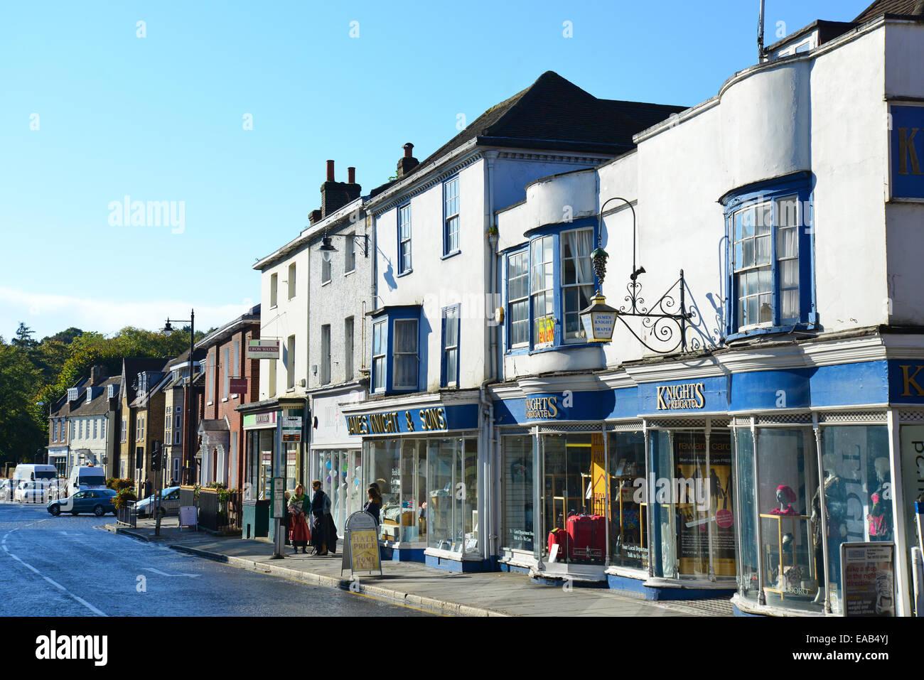 Bell Street, Reigate, Surrey, England, United Kingdom - Stock Image