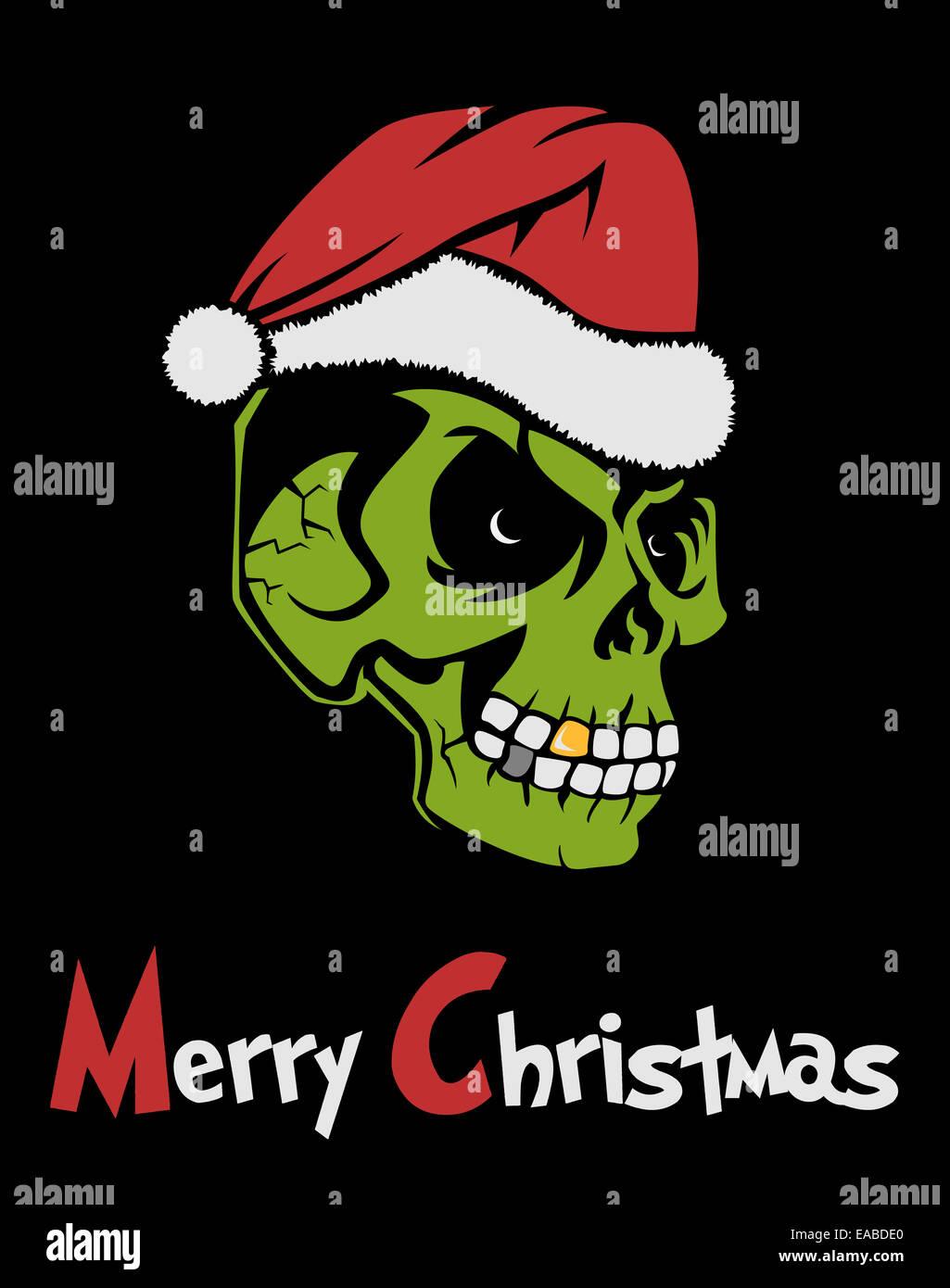 Christmas Zombie Santa.Zombie Santa Claus Stock Photo 75240088 Alamy