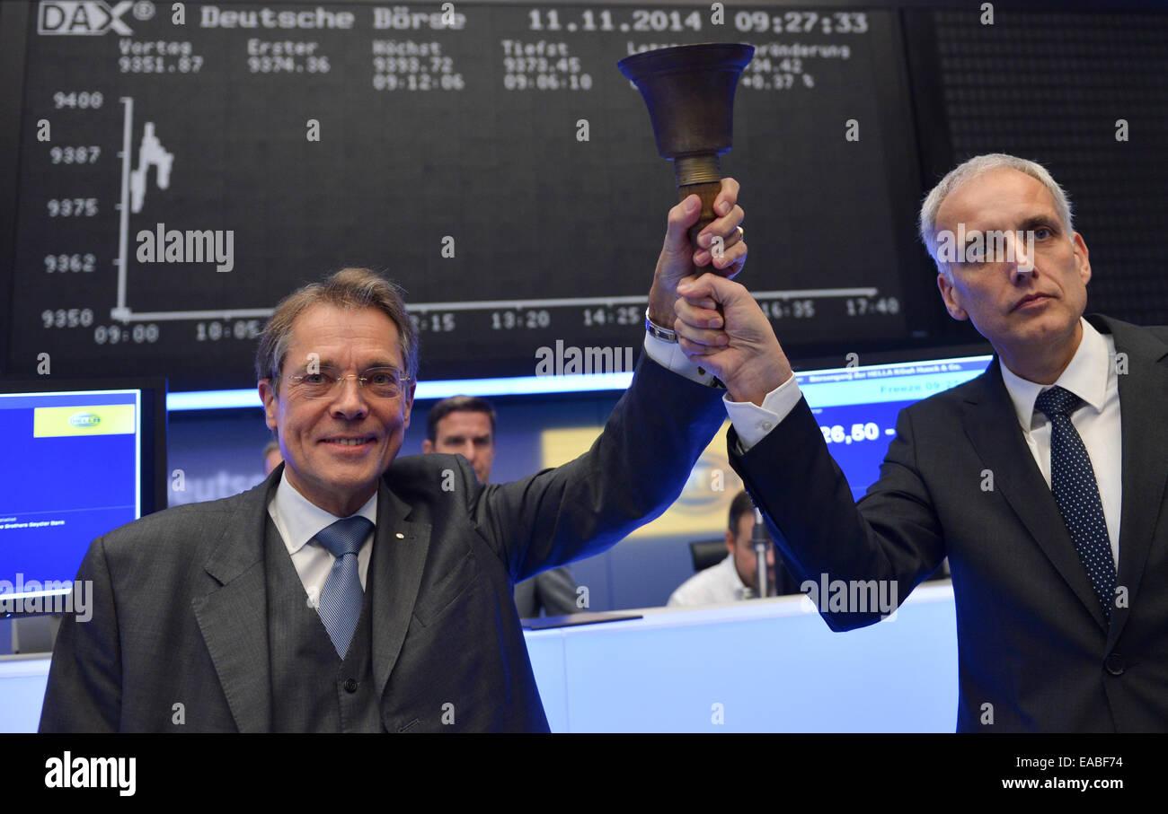 Rolf Frankfurt frankfurt germany 11th nov 2014 juergen behrend l stock