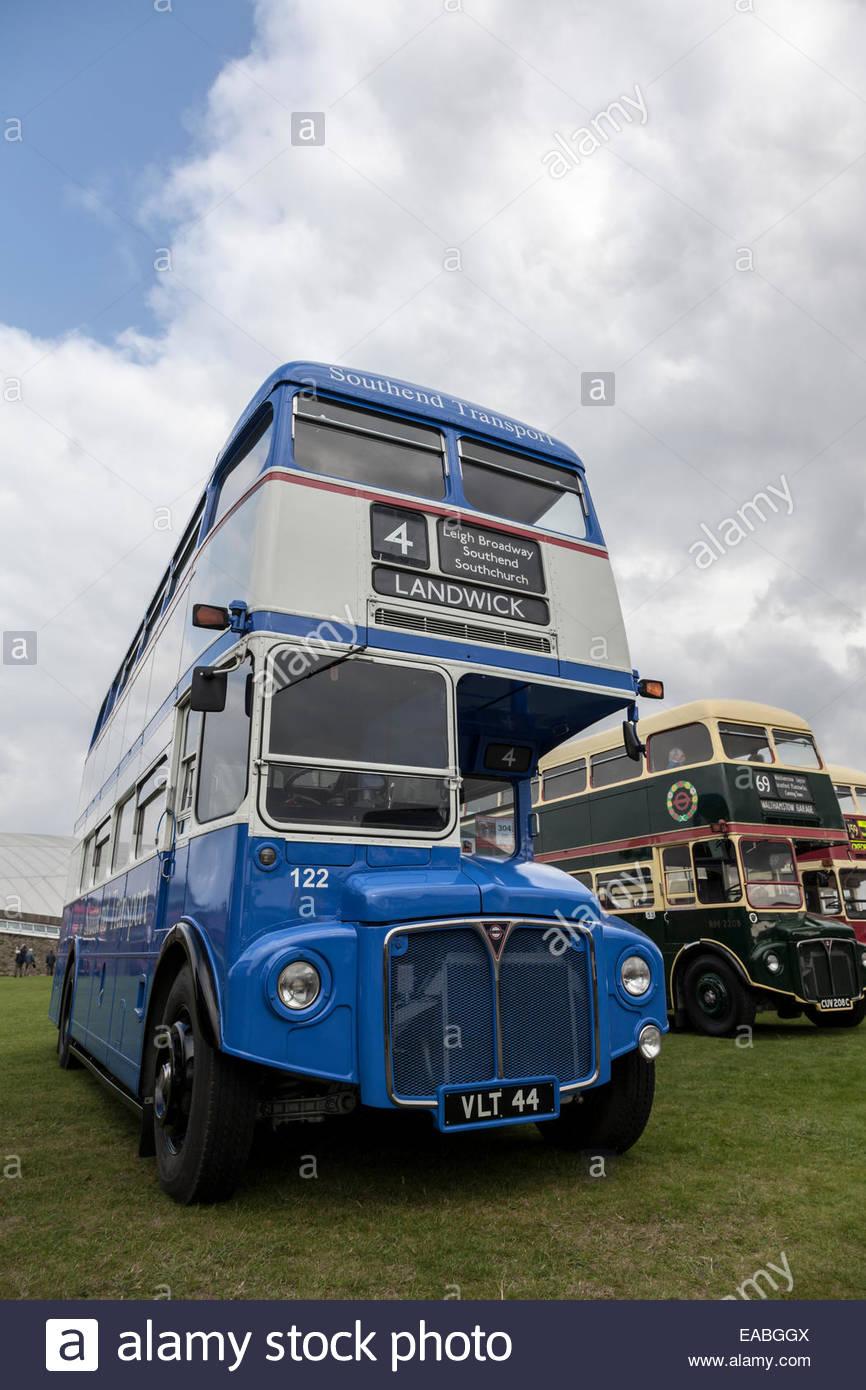 1959 AEC Routemaster Bus - Stock Image