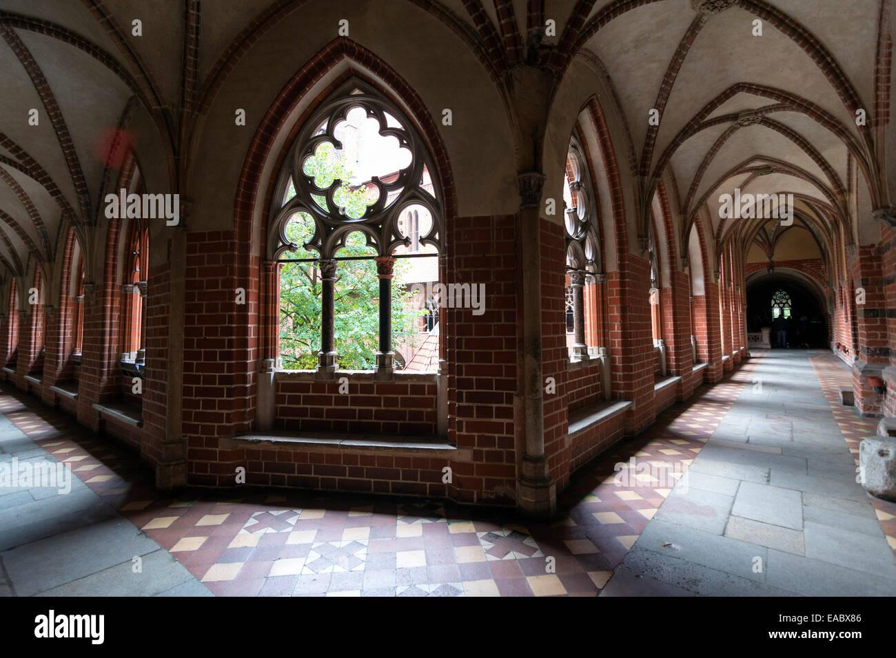 Interior In Greatest Gothic Castle Europe