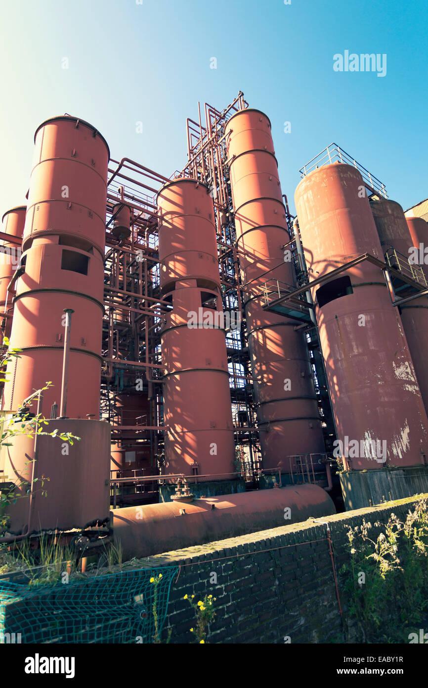 Germany North Rhine-Westphalia Essen Zollverein Coal Mine Industrial Complex Coking plant - Stock Image
