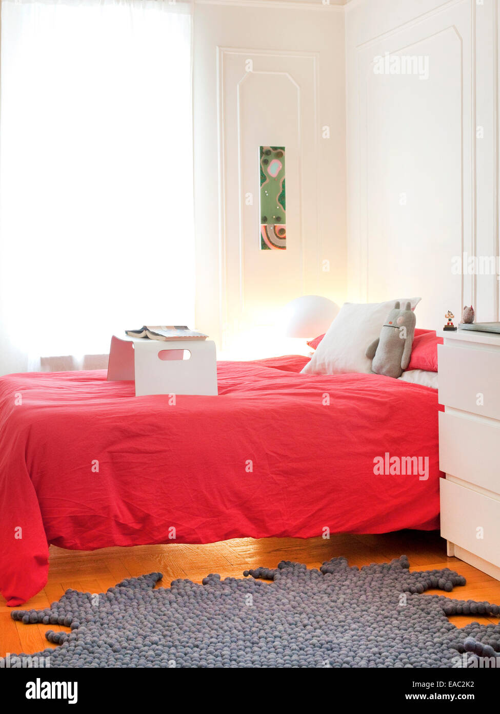 Child's bedroom - Stock Image