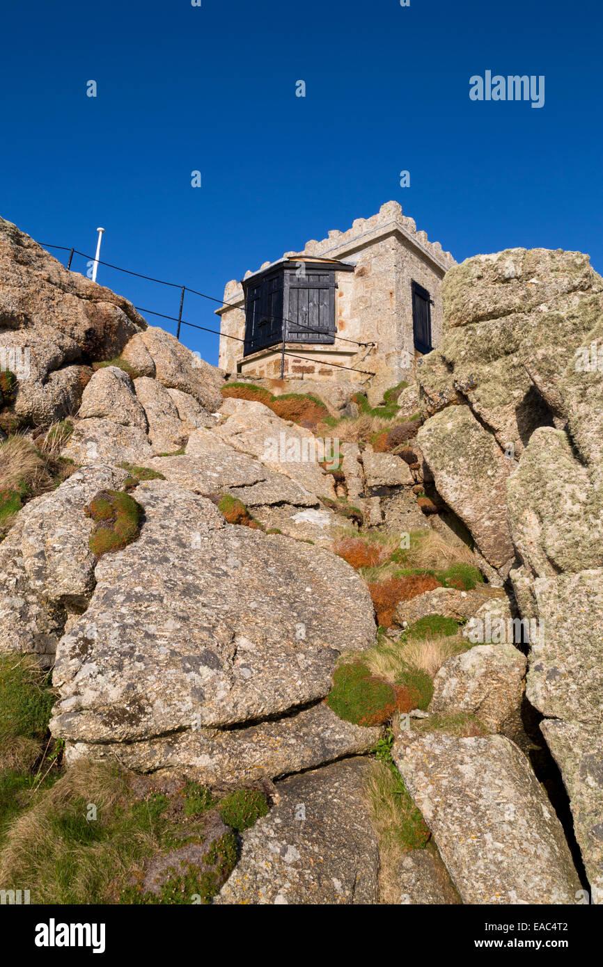 Sennen Lookout; Cornwall; UK - Stock Image