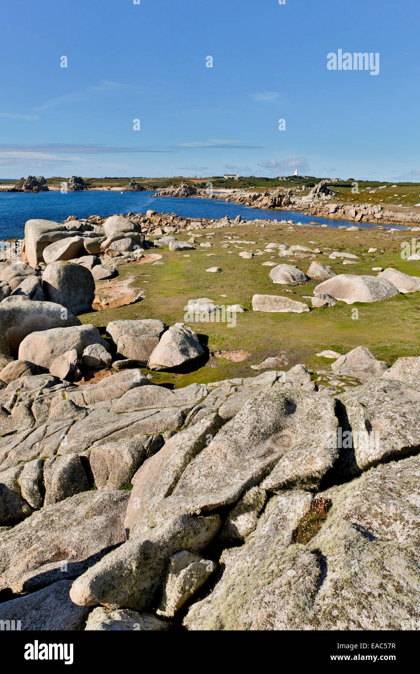 St Agnes; Isles of Scilly; UK - Stock Image