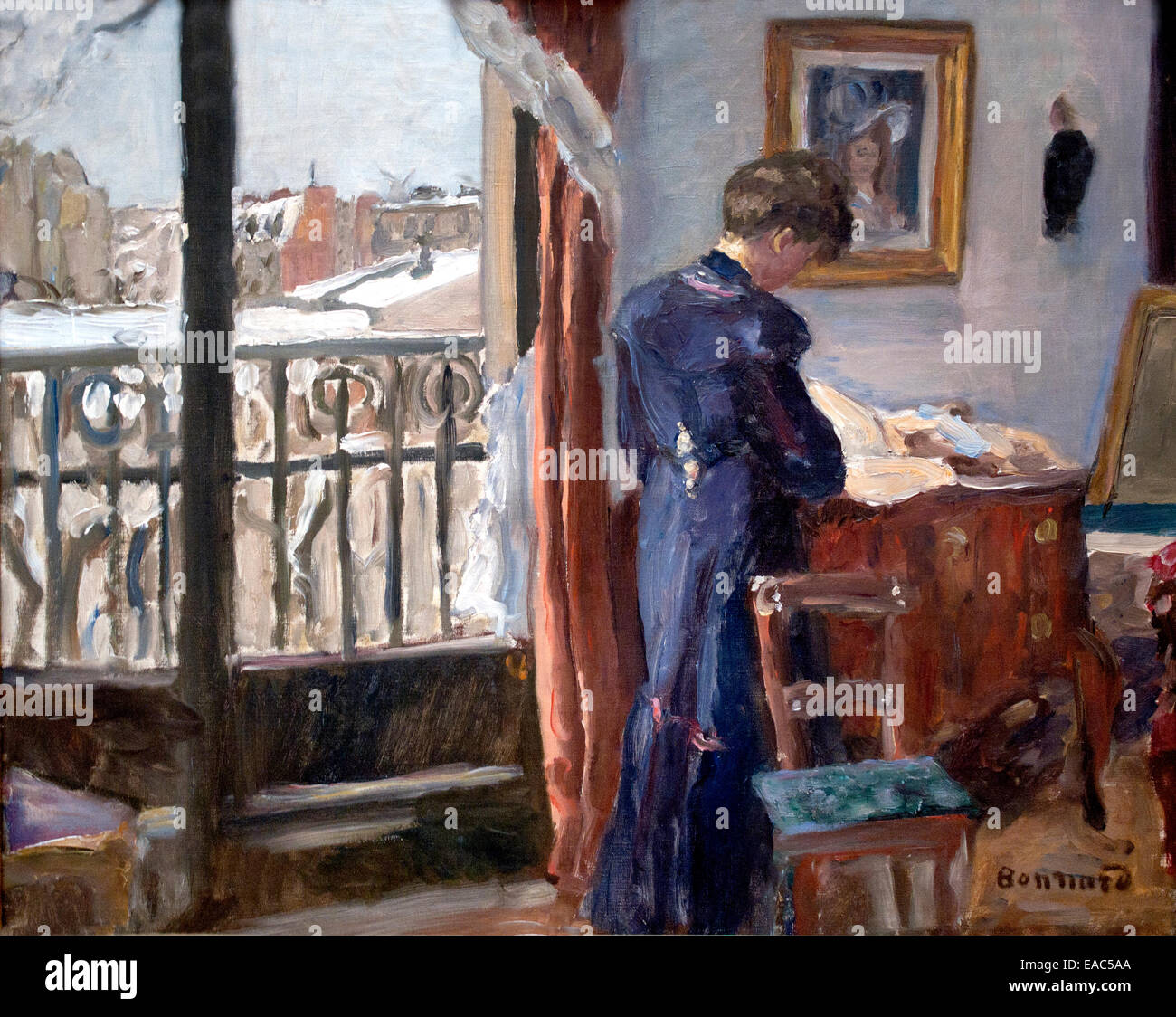 Winter day 1905/1910 Pierre Bonnard 1867-1947  France French - Stock Image
