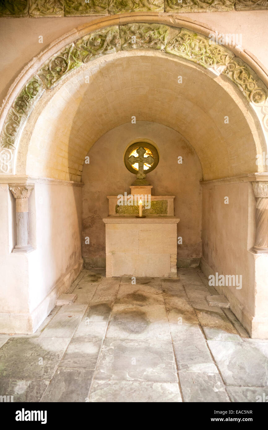 Altar grotto Italianate garden landscape gardener Harold Ainsworth ...