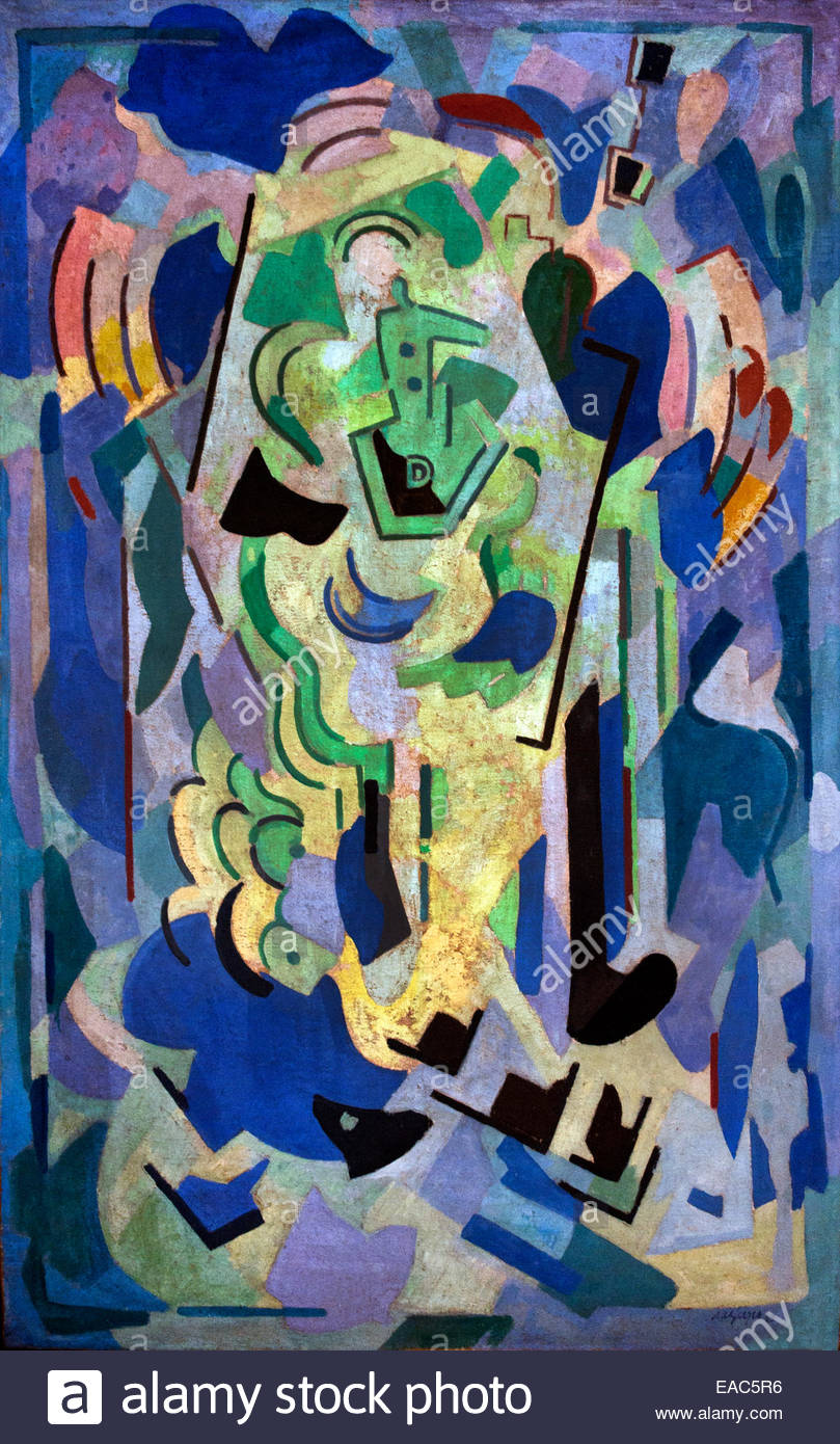 Composition blanche - white composition 1945  Albert Gleizes 1881 – 1953 France French - Stock Image