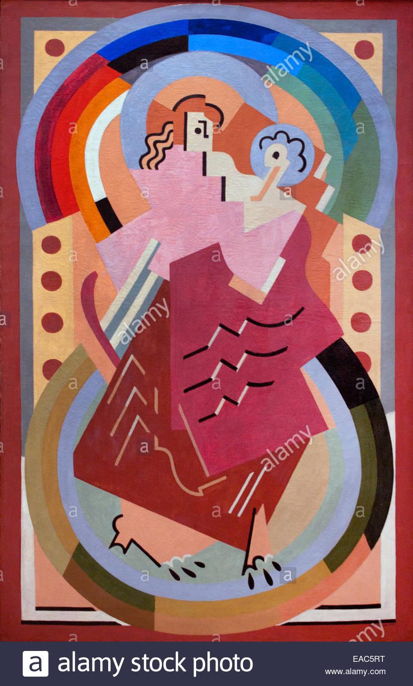 Maternity 1934 Albert Gleizes 1881 – 1953 France French - Stock Image