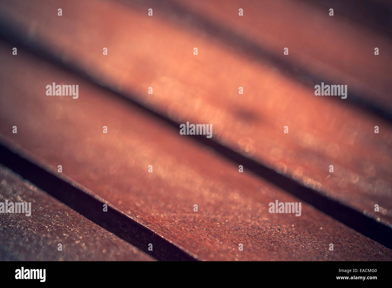 abstract background wood table - Stock Image