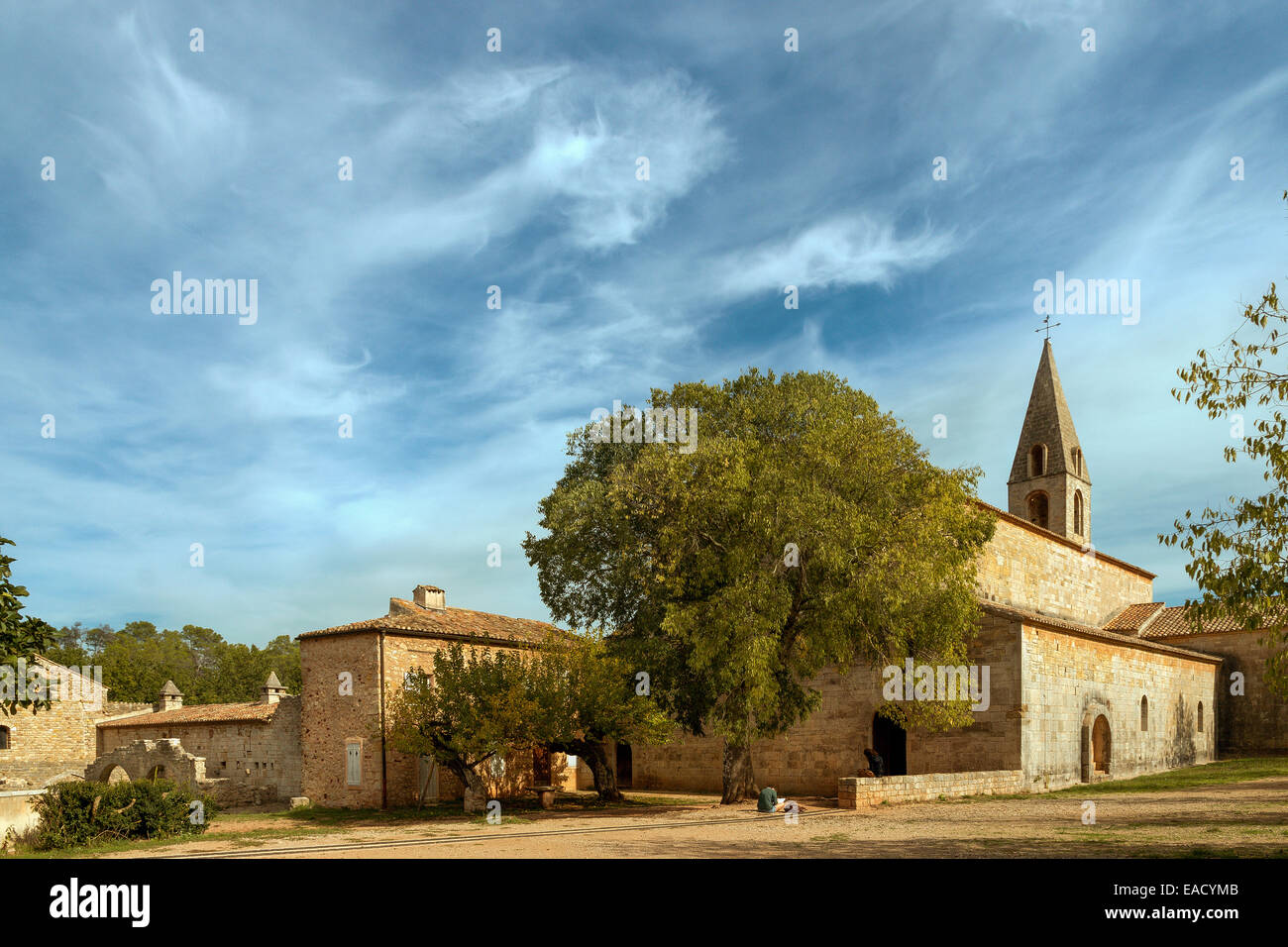 Cistercian church at Le Thoronet, France - Stock Image