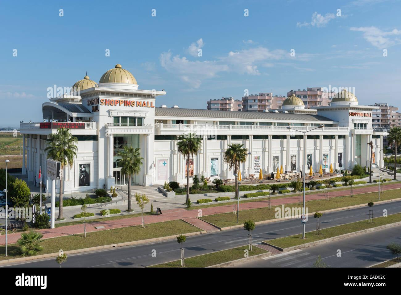 Shopping mall, Lara, Antalya, Turkey - Stock Image