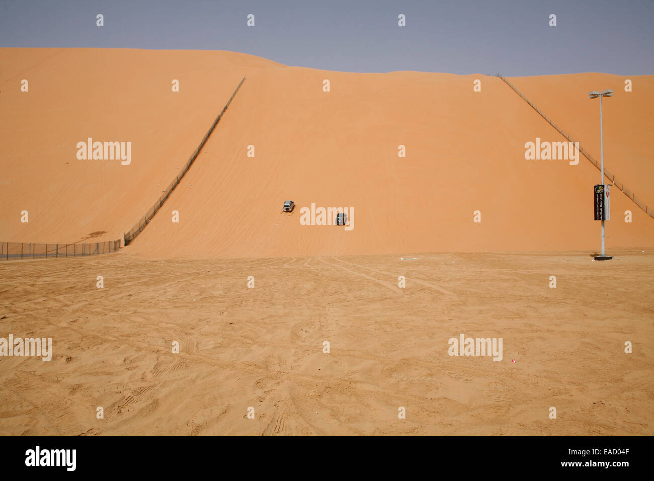 Motorsport at Devils Dune, Abu Dhabi, Emirate of Abu Dhabi, United Arab Emirates - Stock Image