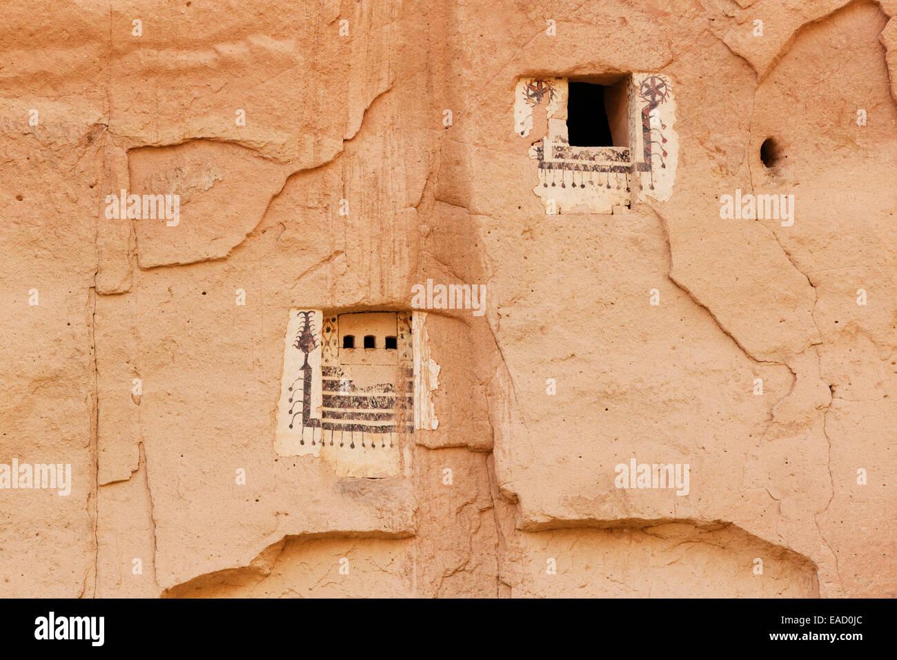 Dovecote, Zelve open-air museum, Göreme National Park, Cappadocia, Central Anatolia Region, Anatolia, Turkey - Stock Image