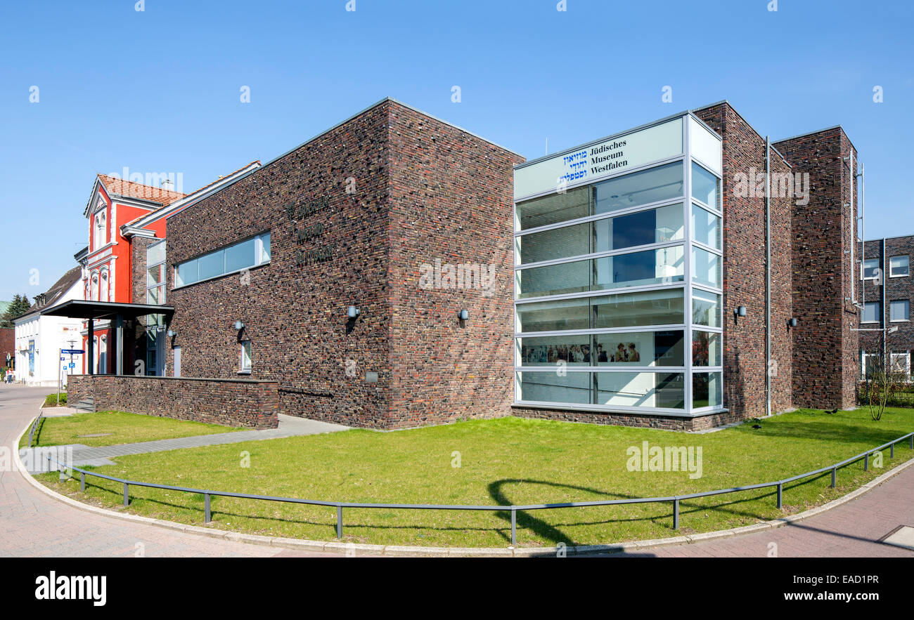Jewish Museum of Westphalia, Dorsten, Ruhr district, North Rhine-Westphalia, Germany Stock Photo