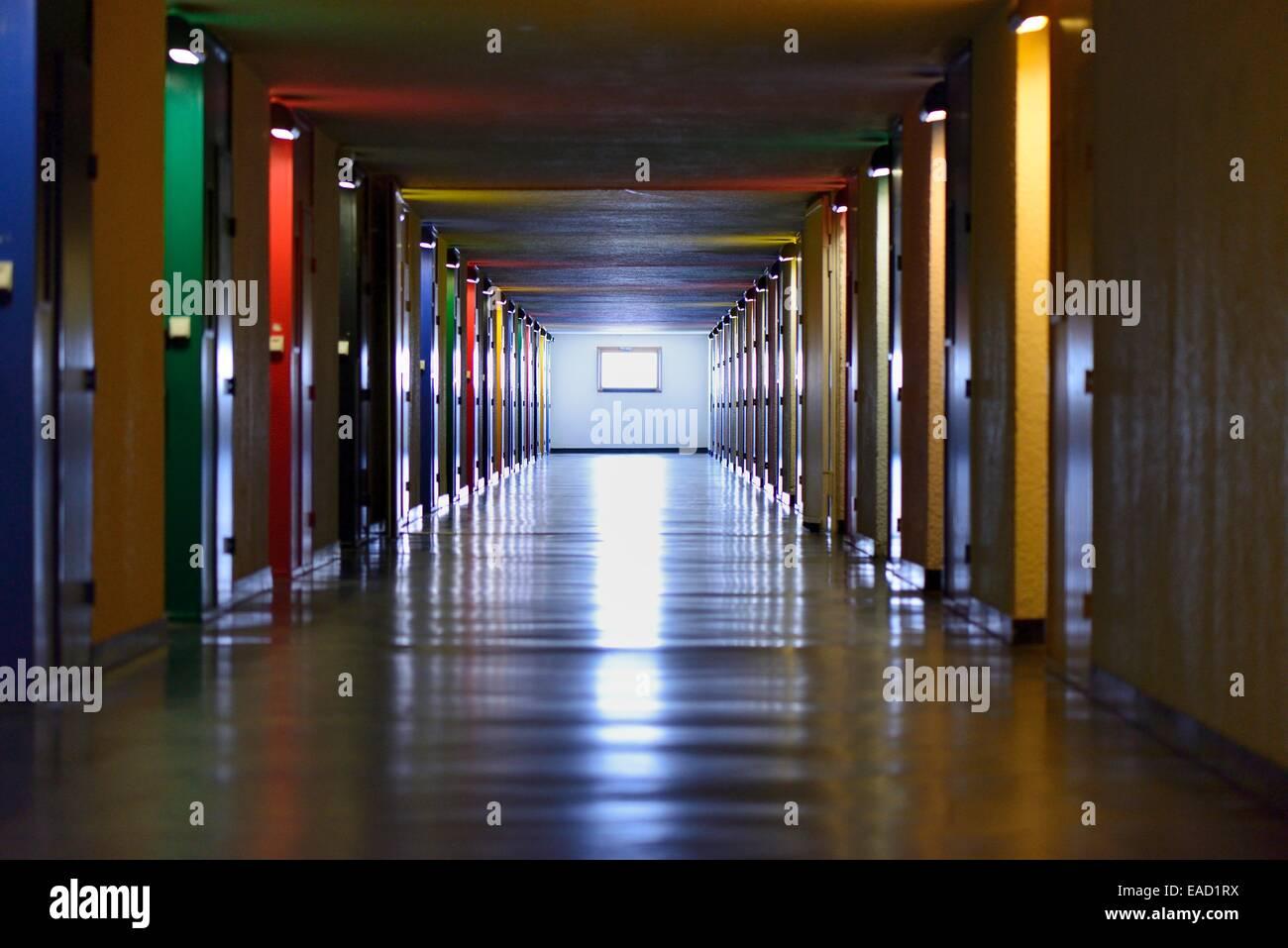 Le Corbusier Unite D Habitation unité d'habitation, housing unit, designed by the architect