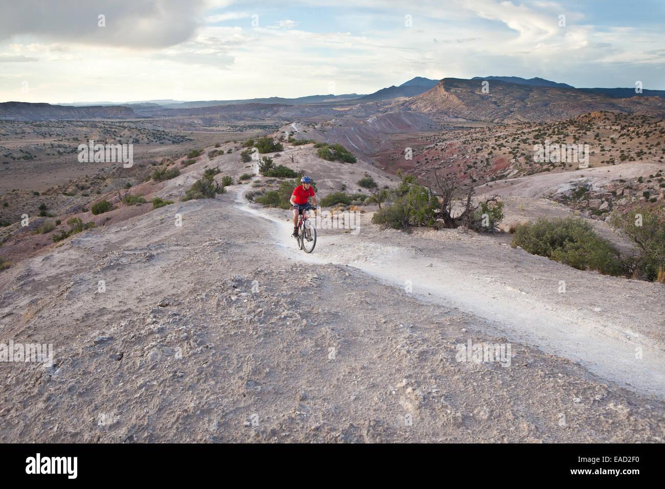 white mesa bike trails stock photo 75275396 alamy
