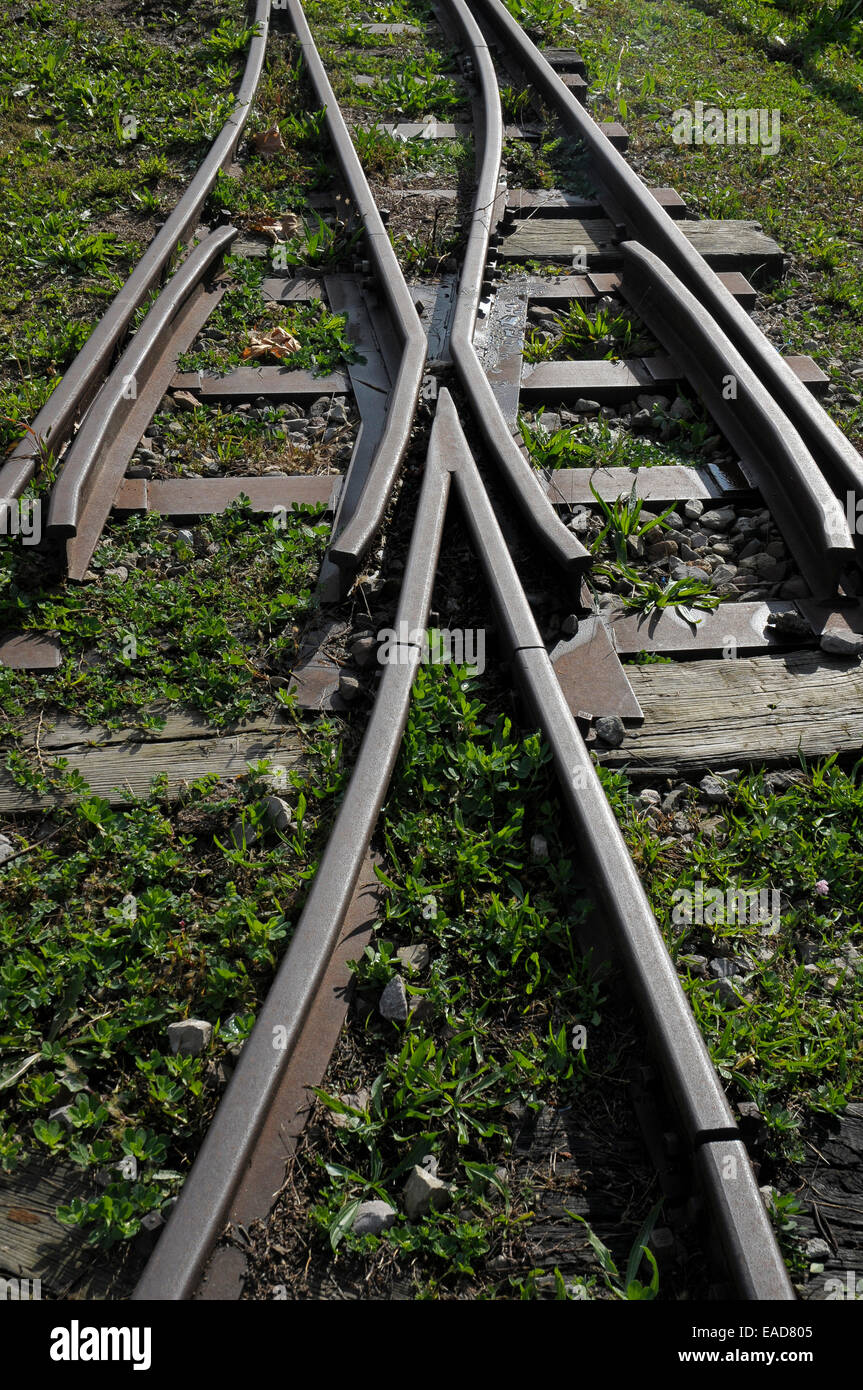 choice, decision, roads, paths, choose split, diversify, sharing, pluralism, cluster networks, services, distribution - Stock Image