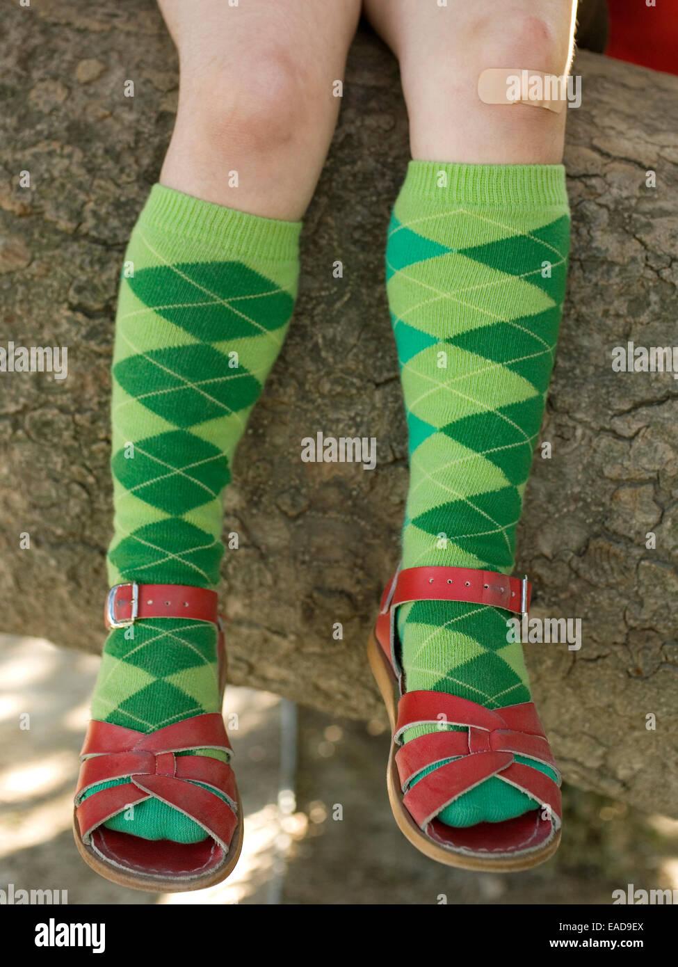 e0d1f177d44 Knee Socks Stock Photos   Knee Socks Stock Images - Alamy