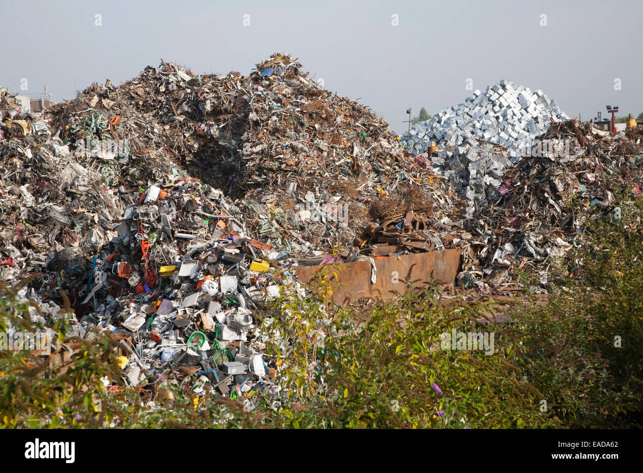 Scrap metal recycling EMR company, Swindon, England, UK Stock Photo