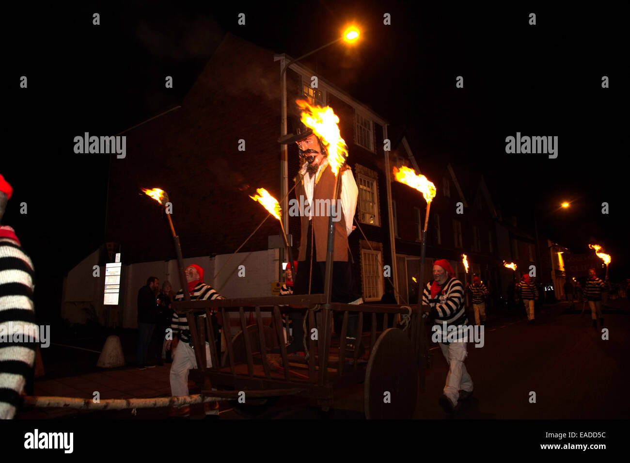 Guy Fawkes Effigy Stock Photos and Images