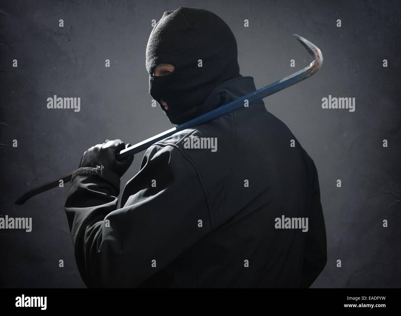 Burglar - Stock Image