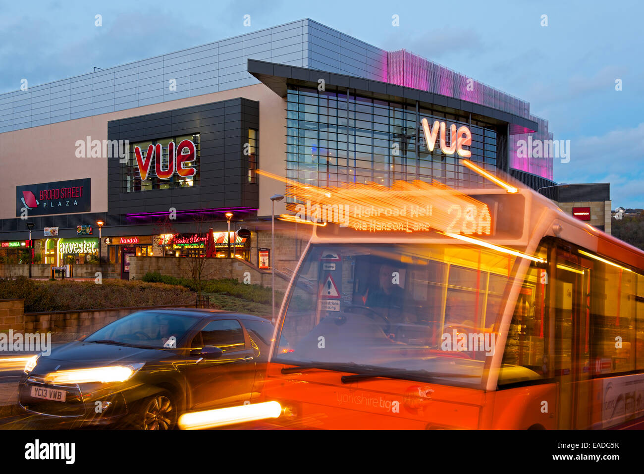 The Vue entertainment centre in Halifax, West Yorkshire, England UK - Stock Image