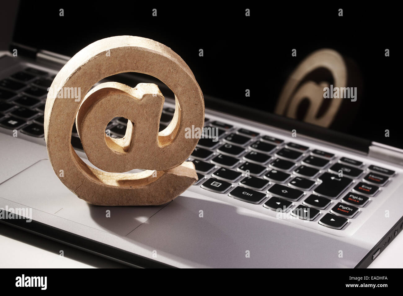 E-mail @ symbol - Stock Image