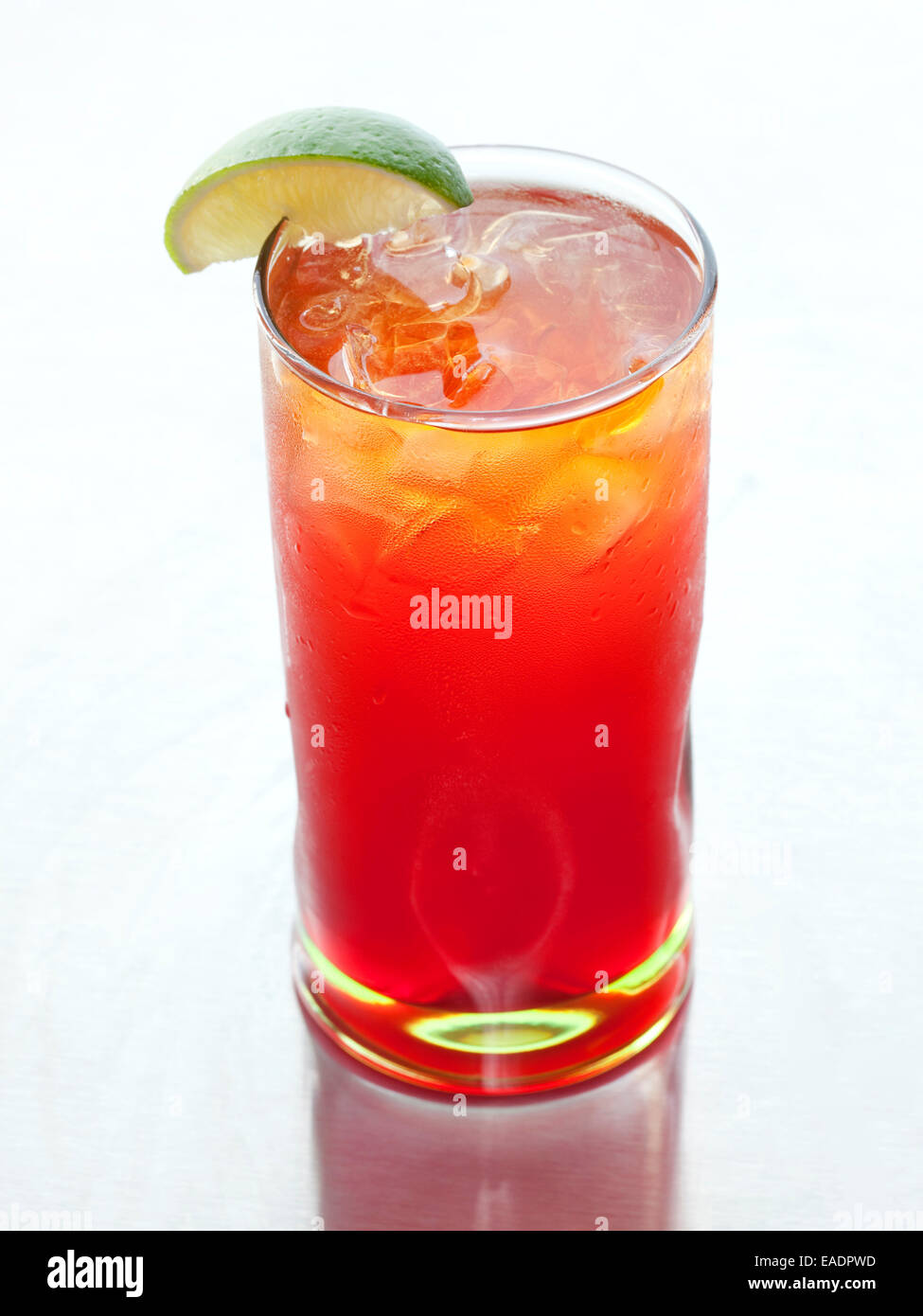 Rum Punch Cocktail - Stock Image