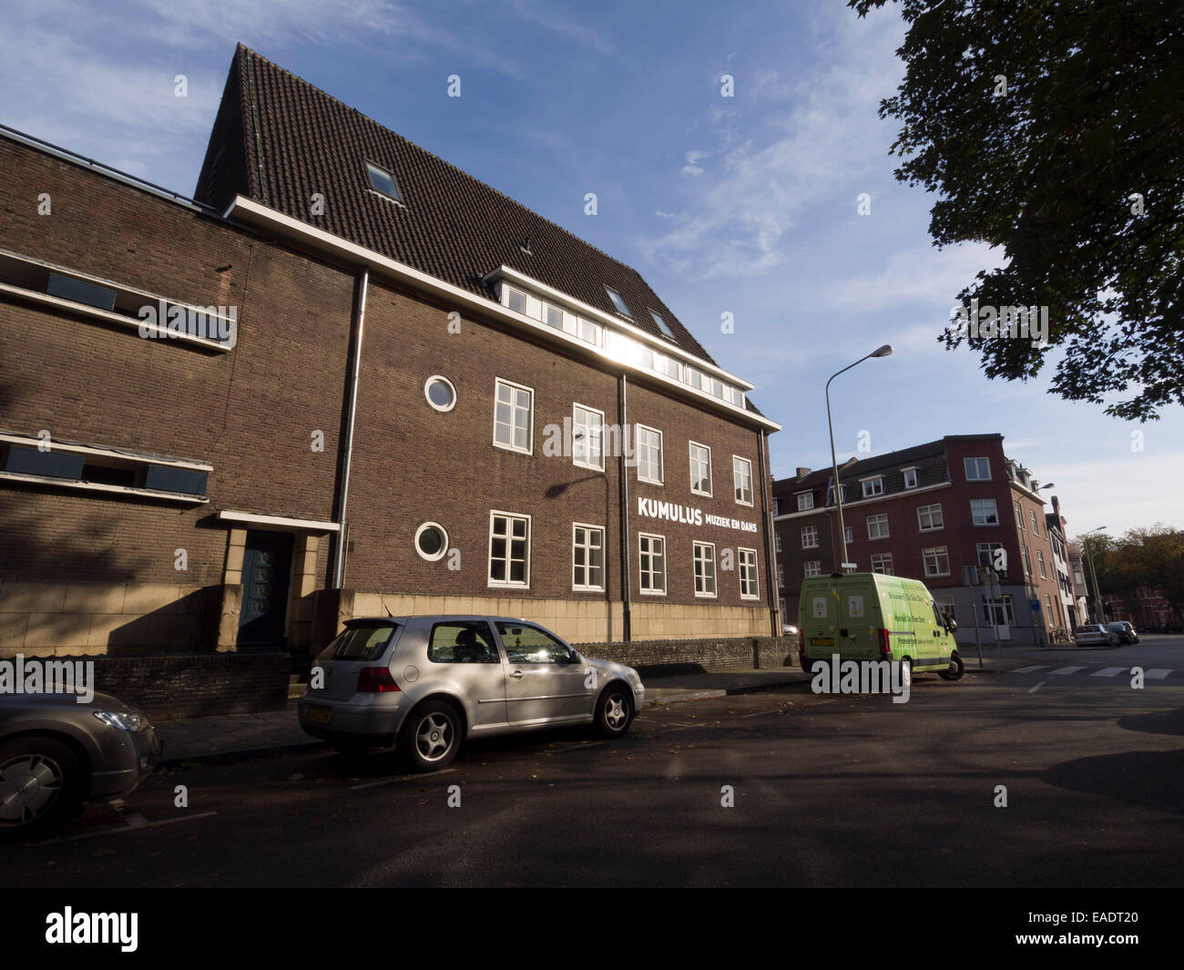 Kumulus music school in Maastricht, The Netherlands - Stock Image