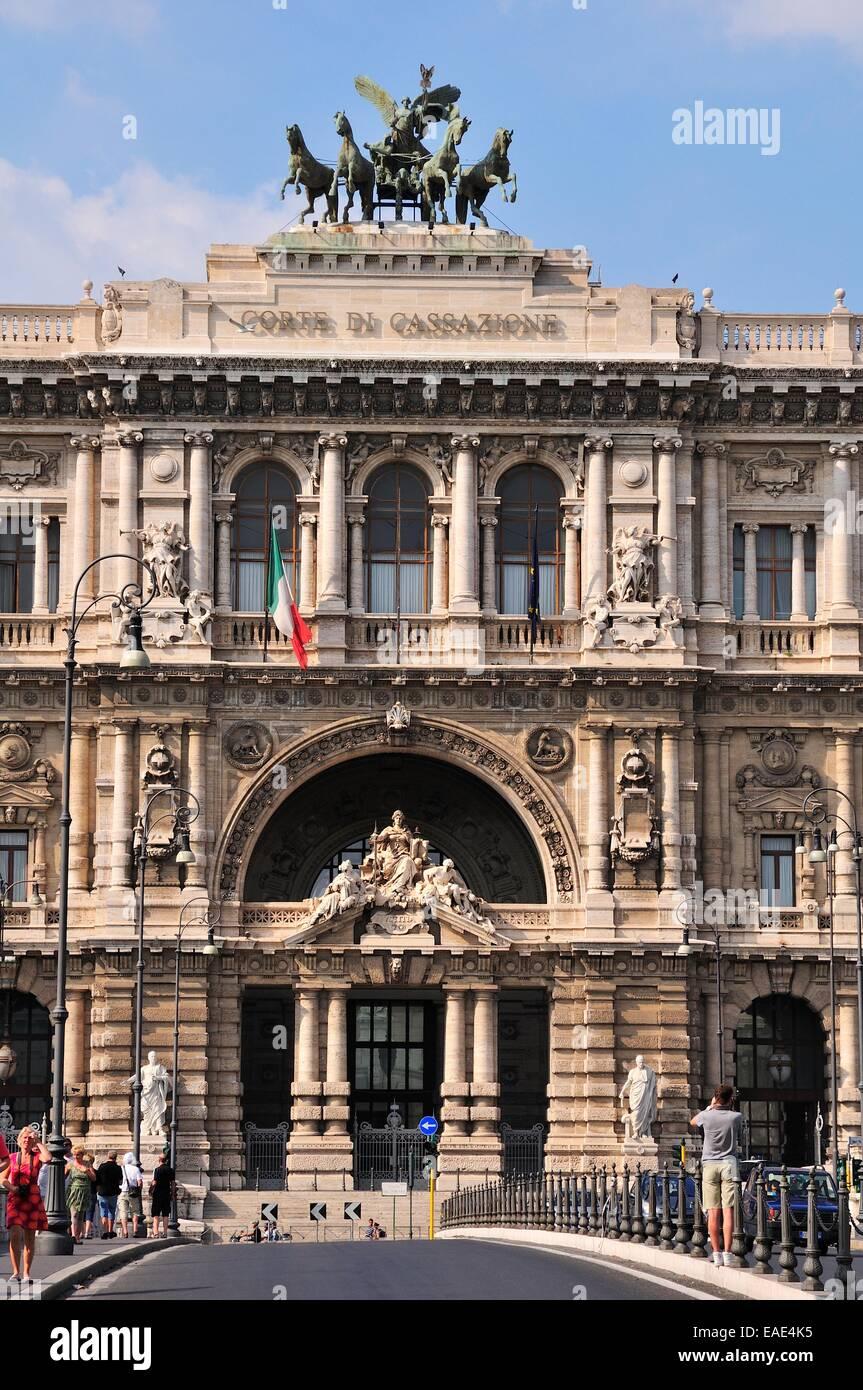 Palazzo di Giustizia, Palace of Justice, Rome, Lazio, Italy - Stock Image