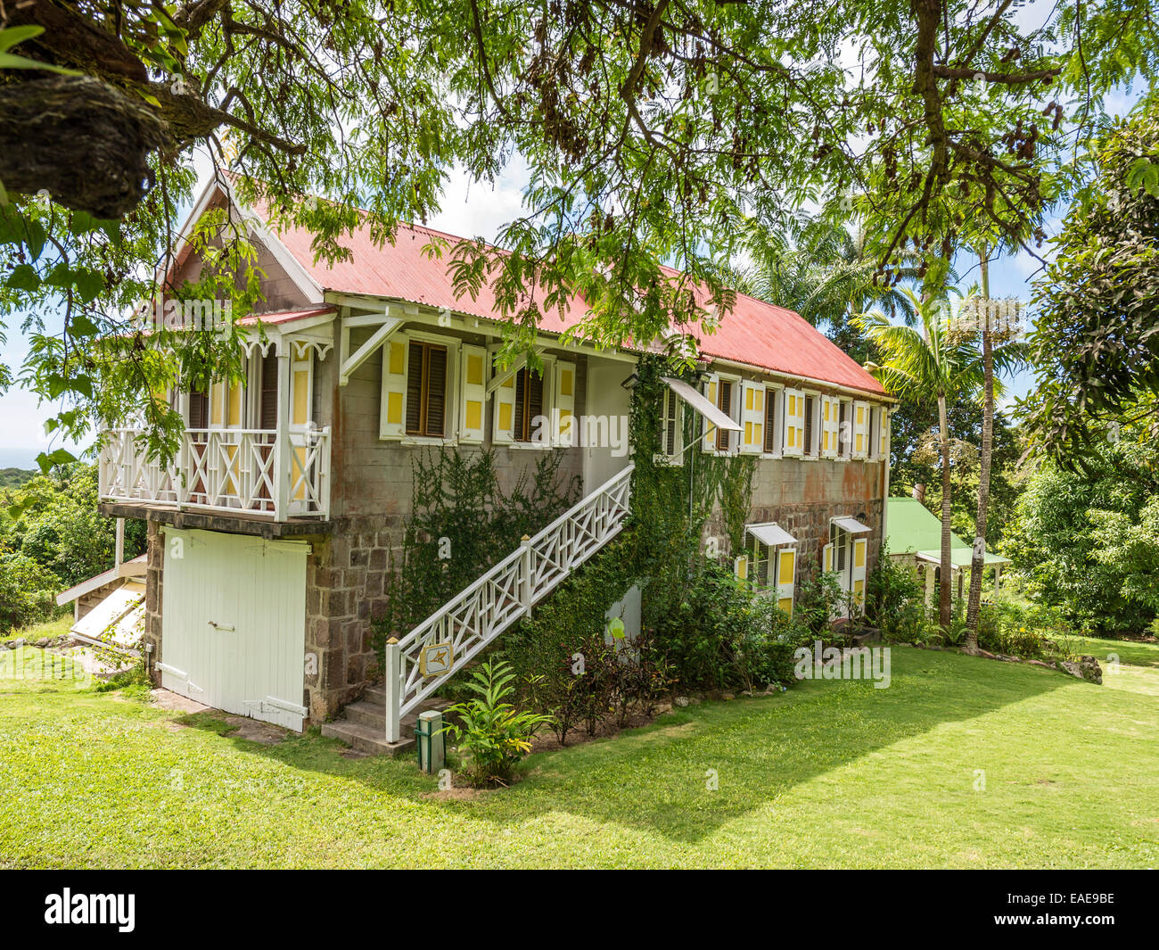 Hermitage Garden Stock Photos Images Alamy Schematic Building And Taken At The Nevis Image