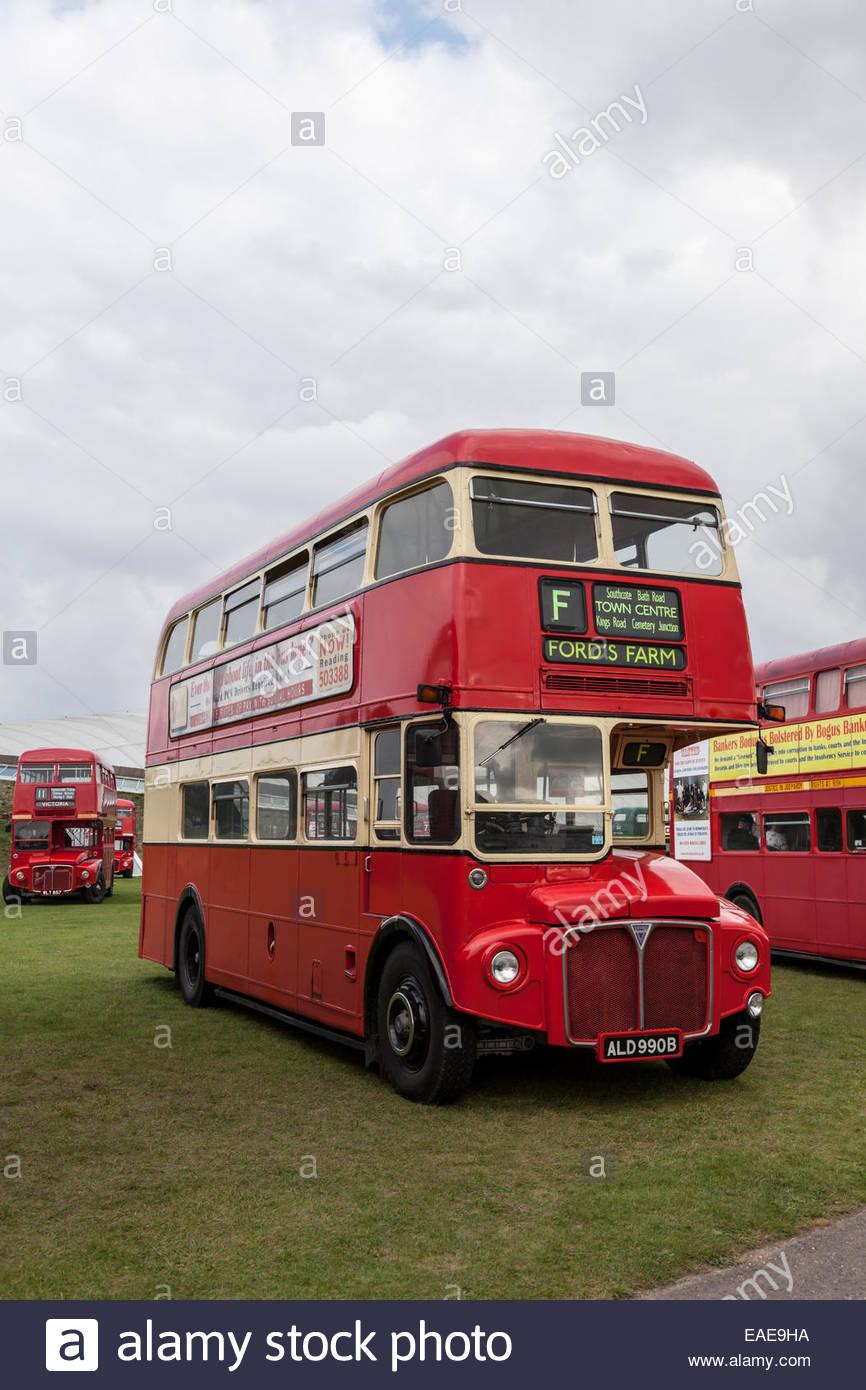 1964 AEC Routemaster Bus - Stock Image