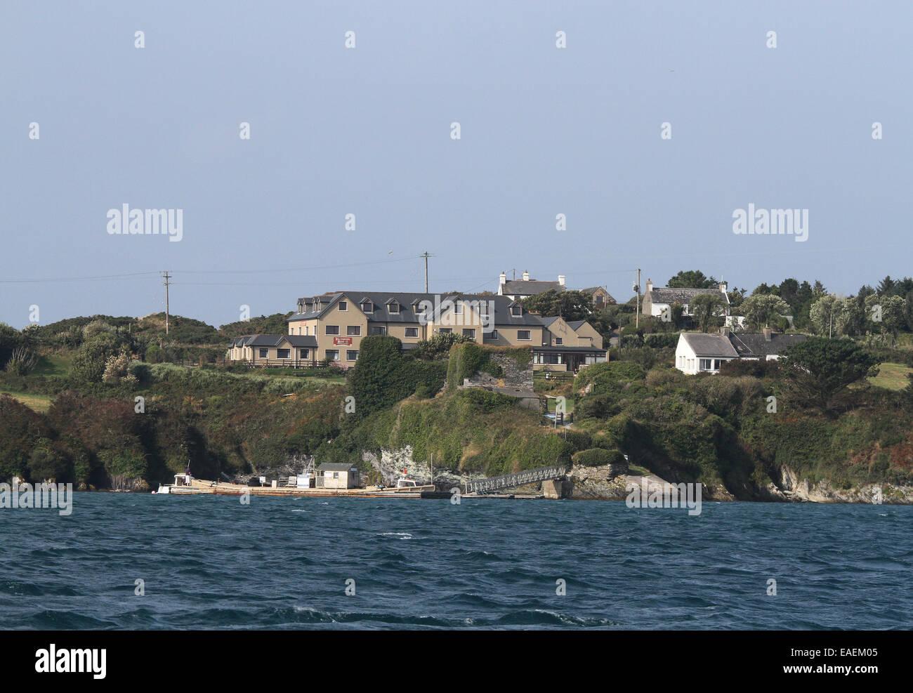 Sherkin Island County Cork Island - Stock Image