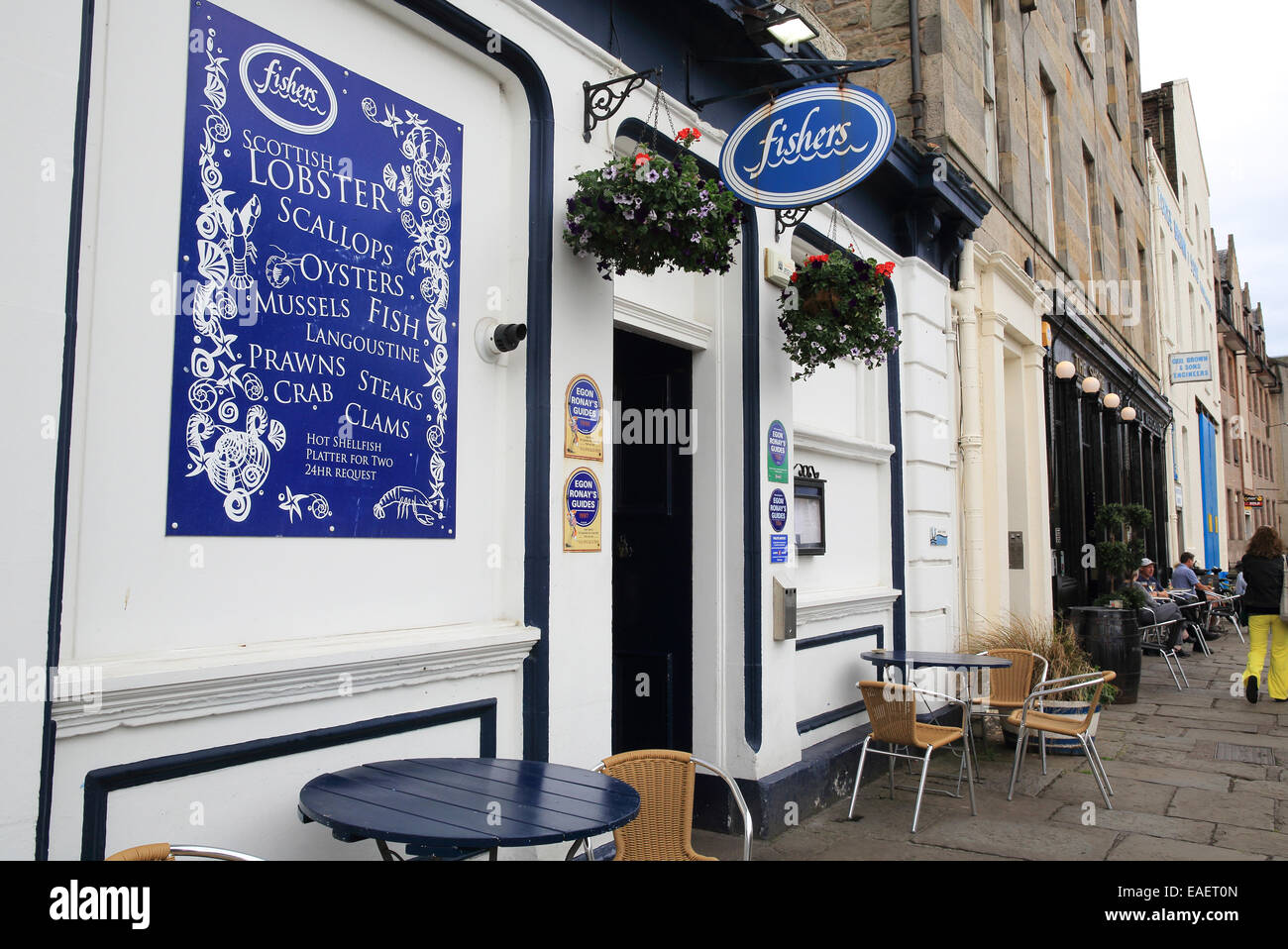 Fishers In Leith A Restaurant Serving Fish And Local