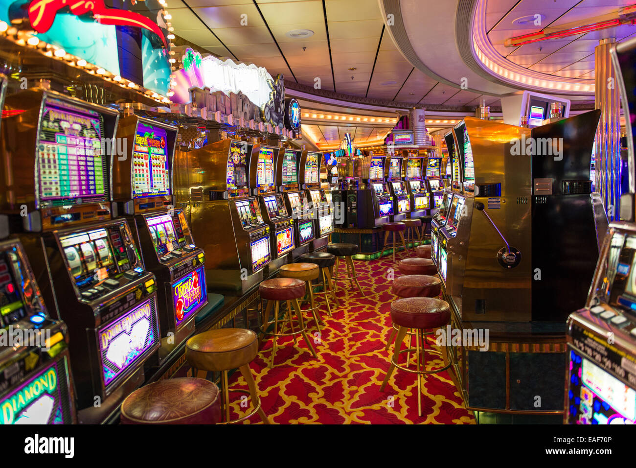 Cruise Ship Slots Do Cruise Ships Tighten Slots During the Cruise?By Jerry