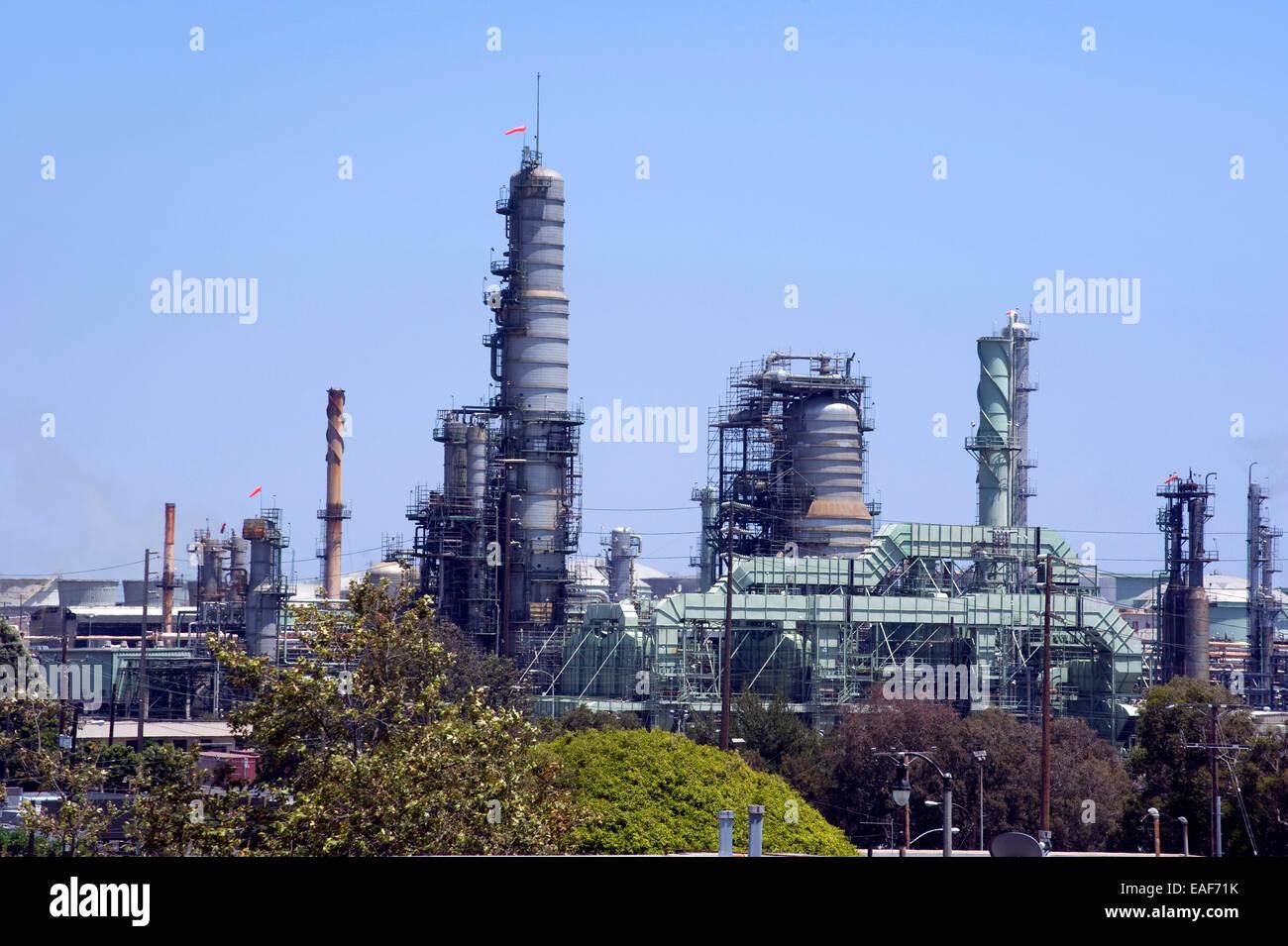 Chevron Refinery El Segundo Stock Photos & Chevron Refinery